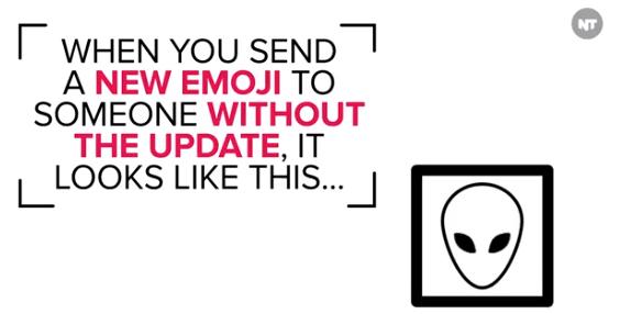 Apple Emoji Alien