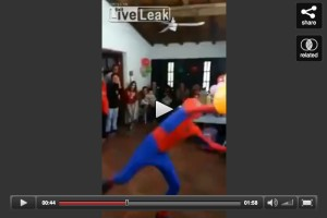 spidermanknockedout